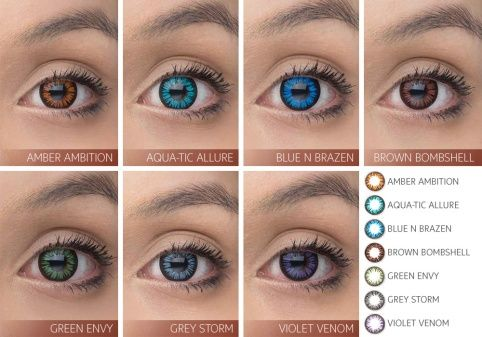 splash of color vial contact lenses only available eyewear