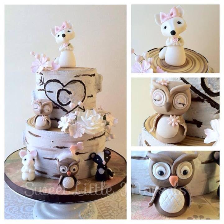 Pin By Cindy Coats On Fondant Woodland Cake Cake