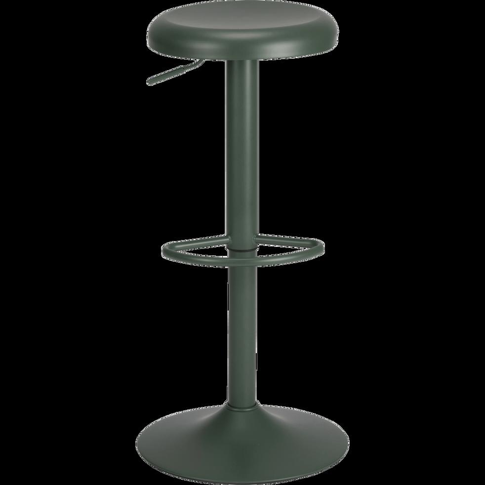 Tabouret Ajustable En Metal Noir H59 A 81cm Alinea En 2020 Tabouret Metal Noir Et Tabouret De Bar Alinea