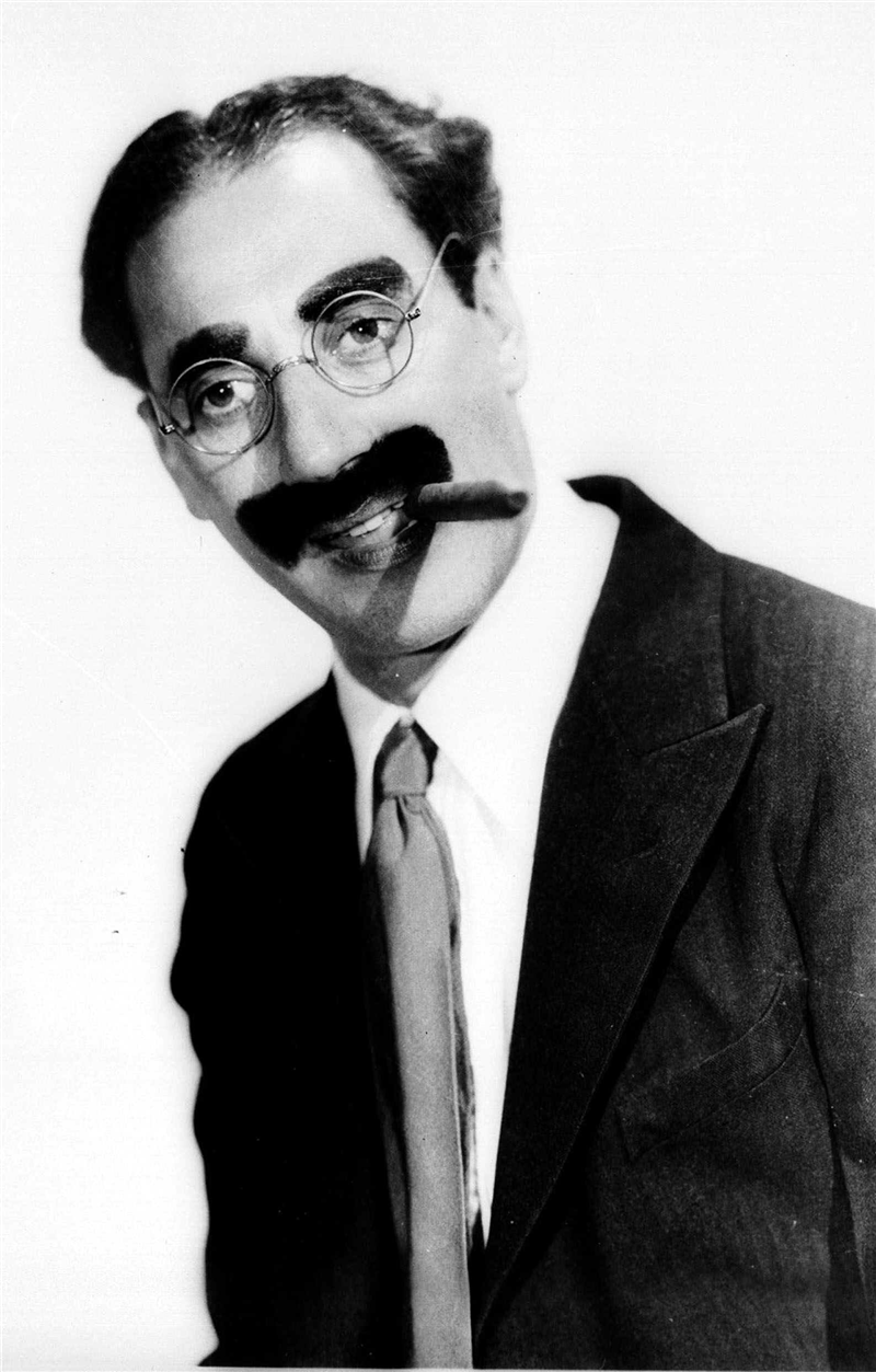Last Night I Shot An Elephant In My Pajamas Groucho Classic Hollywood Comedians