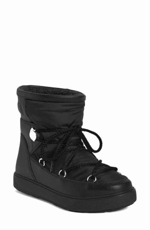 Moncler New Fanny Stivale Short Moon Boots (Women)   boots   Boots ... 7acefd87a74