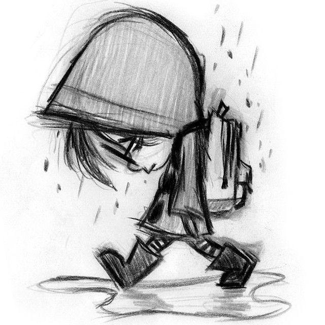 Imagens Tristes Desenhos Animados Para Desenhar