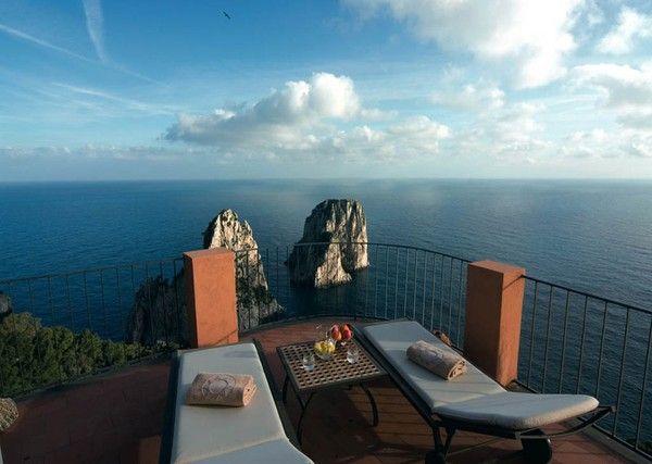 Paradise Found At Hotel Punta Tragara Capri Italy Tourism Vacation Trips Dream Hotels