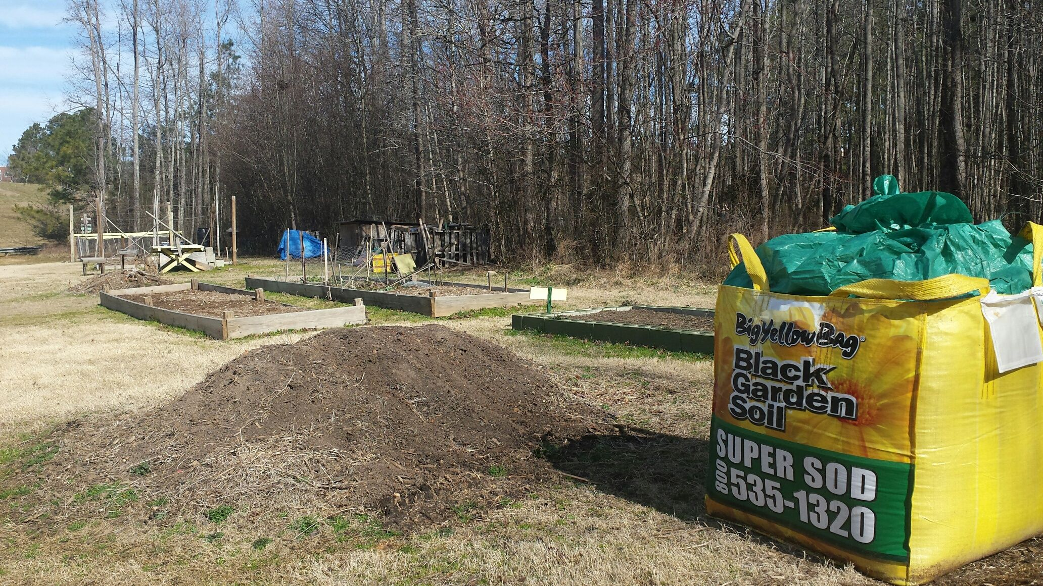 Super Sod S Soil3 Organic Compost Sold In A 1 Cubic Yard Bigyellowbag Delivered In Early February To Enrich Th Natural Pesticides Compost For Sale Garden Soil