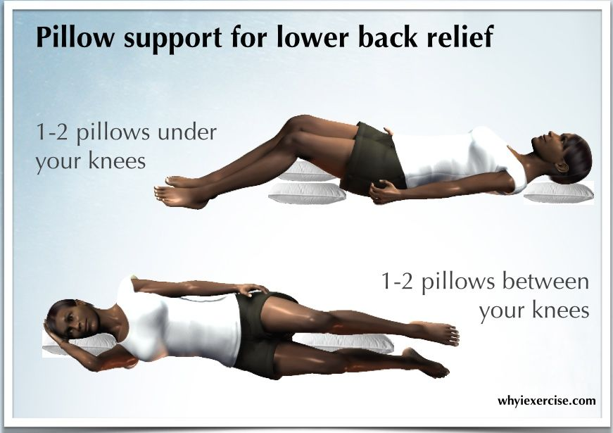 KNEE SUPPORT PILLOW BACK PAIN