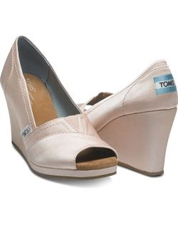 39e5ea02d8c9 TOMS - Petal Grosgrain Wedge - Shoes    Possible wedding shoes ...