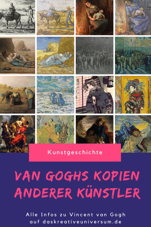 Vincent Van Goghs Kopien Anderer Kunstler Im Uberblick In 2020 Vincent Van Gogh Van Gogh Kunstgeschichte
