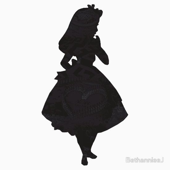 Alice Perrin Google Search: Silhouettes Of Alice In Wonderland - Google Search