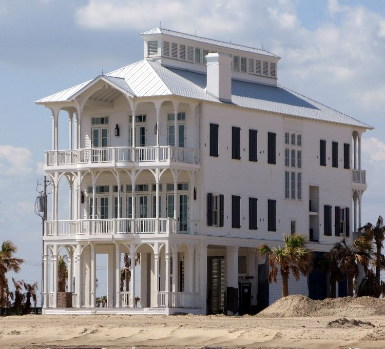 Beachtown Galveston Is The Only Island Community