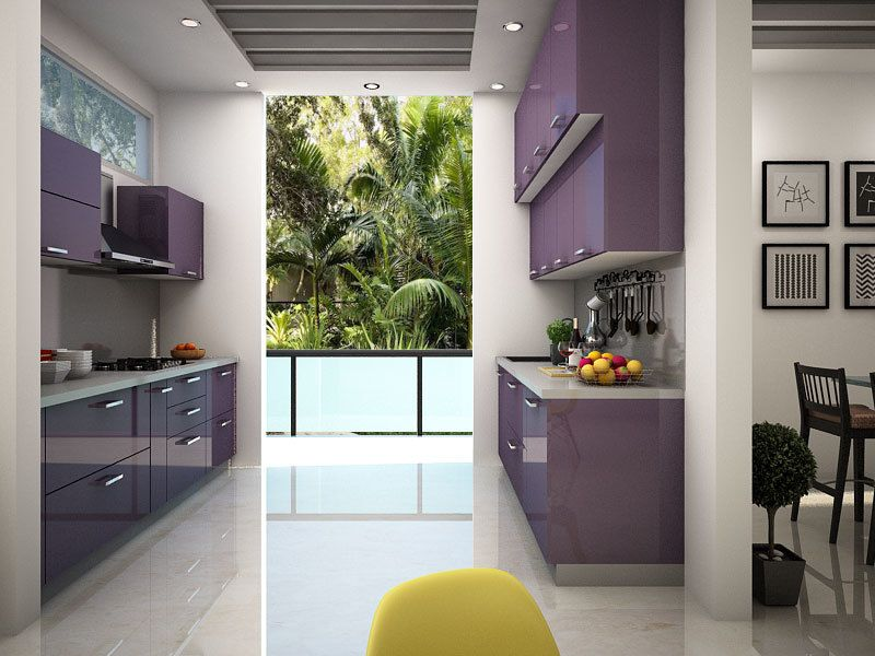 Best Mia Parallel Modular Kitchen Parallelmodularkitchen 400 x 300
