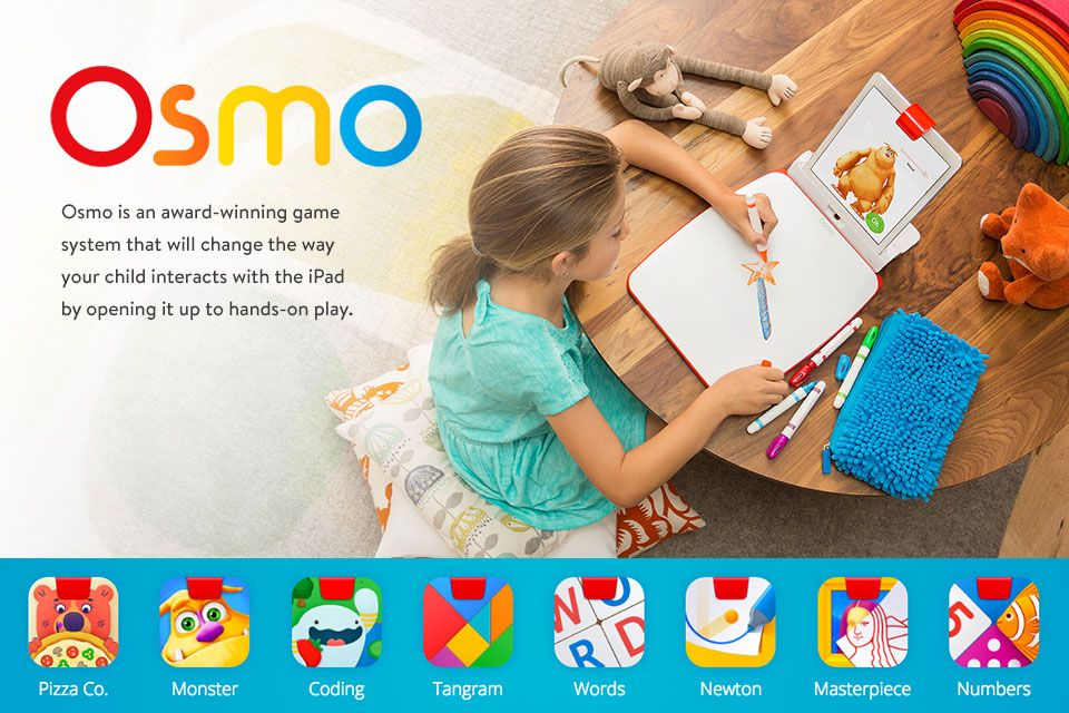 Osmo is an awardwinning game system that will change the