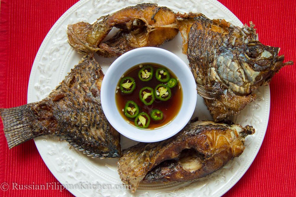 Fried Tilapia Slices
