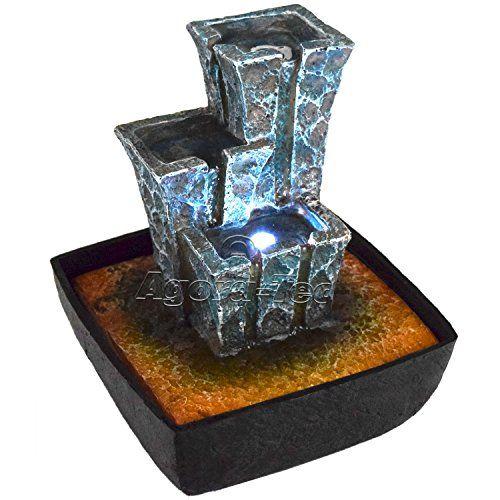 Fontaine d\u0027intérieur Agora-Tec modèle Stonehenge - Fontaine et jouet - fontaine a eau d interieur
