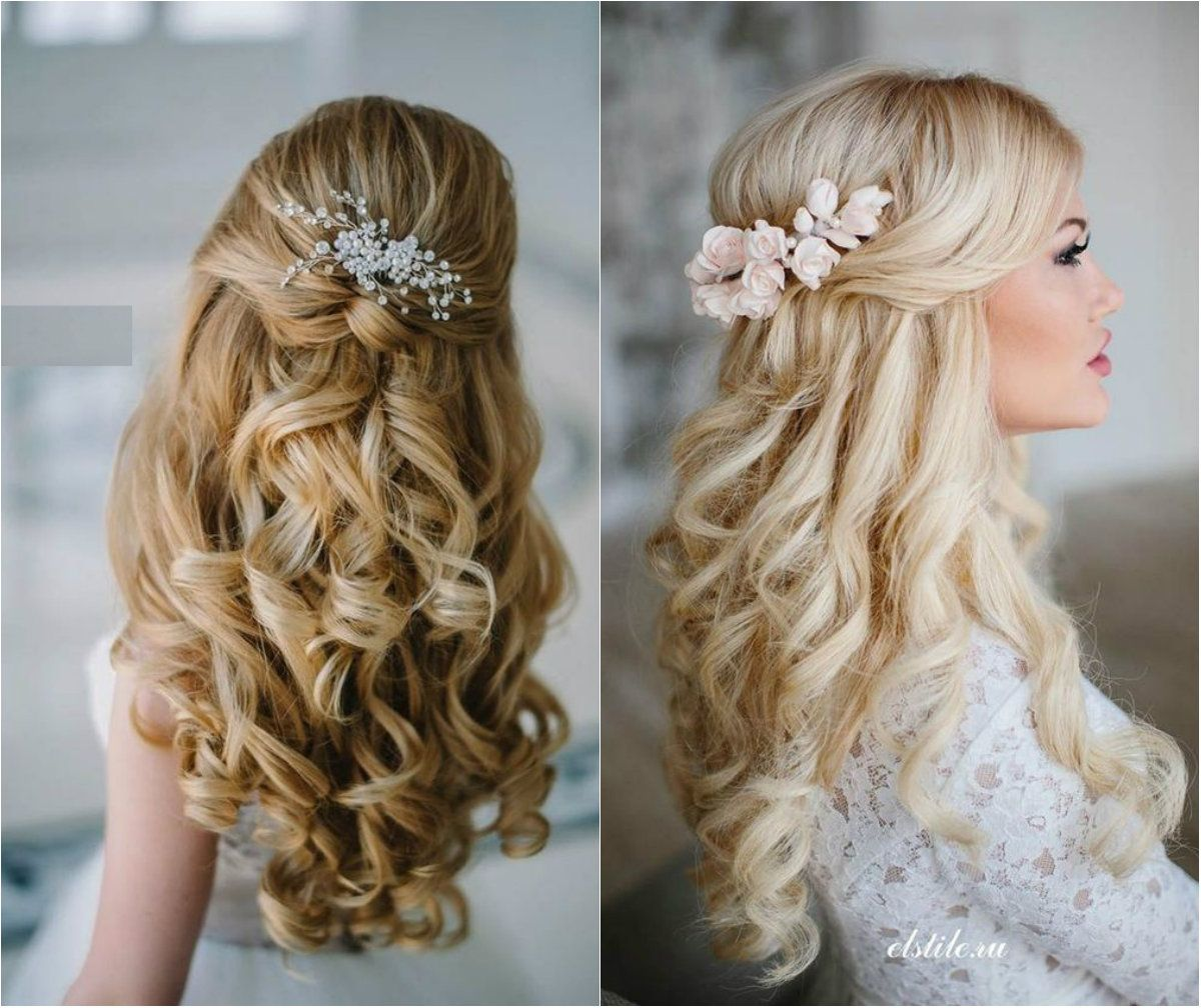 image result for down-do wedding hair | bacon and cabbage day