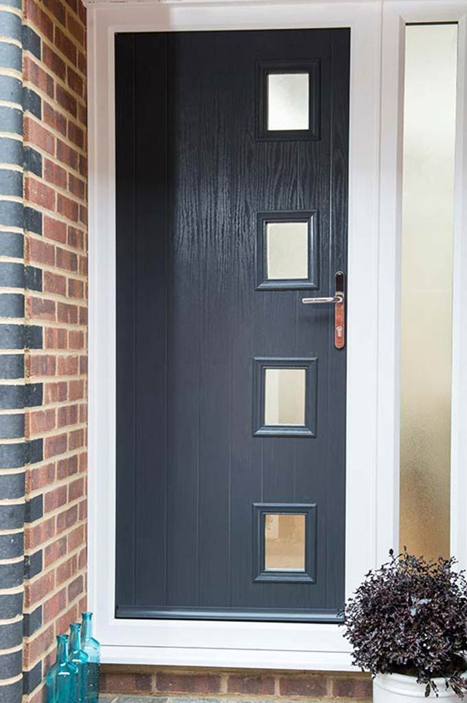 Composite Contemporary Front And Back Doors Gallery Everest