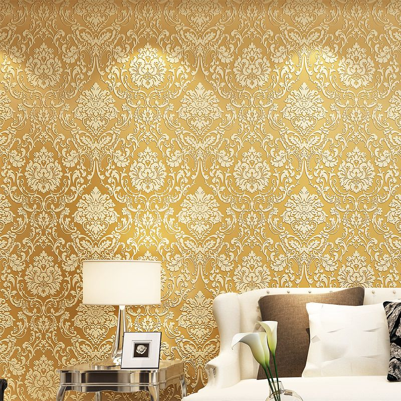 beibehang French Modern Damask Feature Wallpaper Bedroom TV Backdrop ...