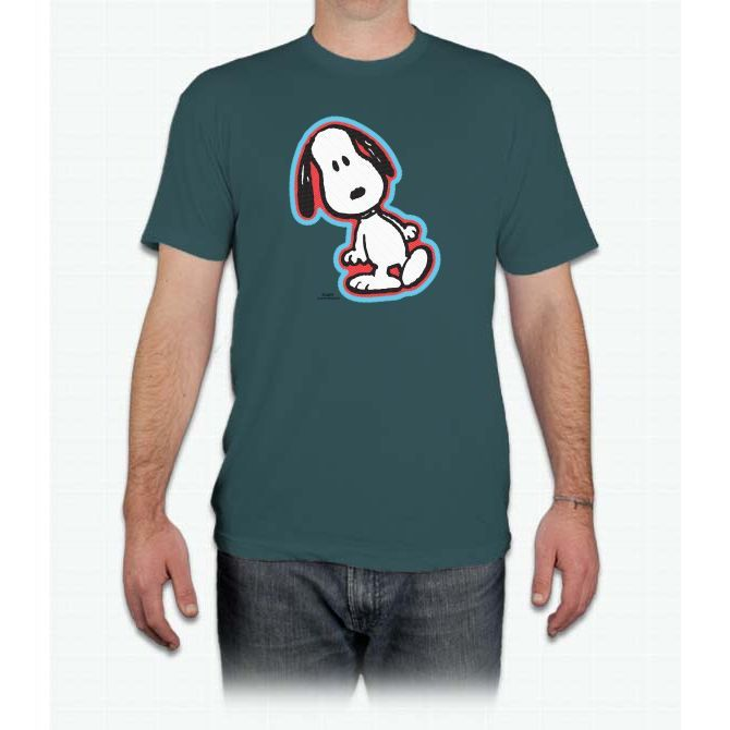 Peanuts Flair Snoopy Favorite Men's Favorite Tee - Men T-Shirt