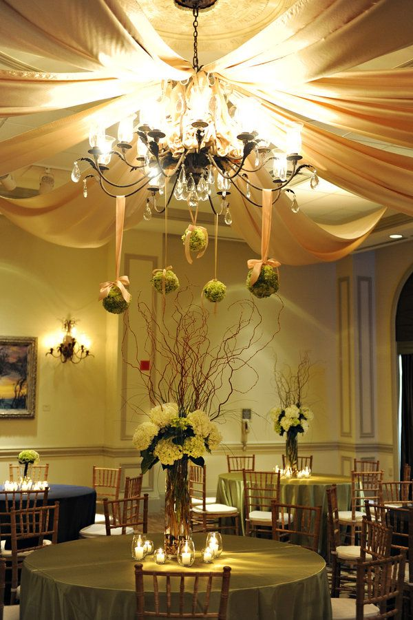 loving the twigs and where can these moss balls make an appearance at my reception?