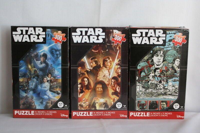 Disney Star Wars 300 Piece Jigsaw Puzzles Toys Lot Of 3 Cardinalindustries Disney Star Wars 300 Pieces Jigsaw Puzzle Puzzle Toys