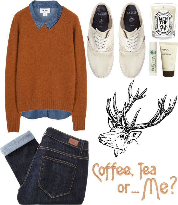 """""""Outfit 103: Coffee, Tea, or Me?"""" by red-head426 ❤ liked on Polyvore"""