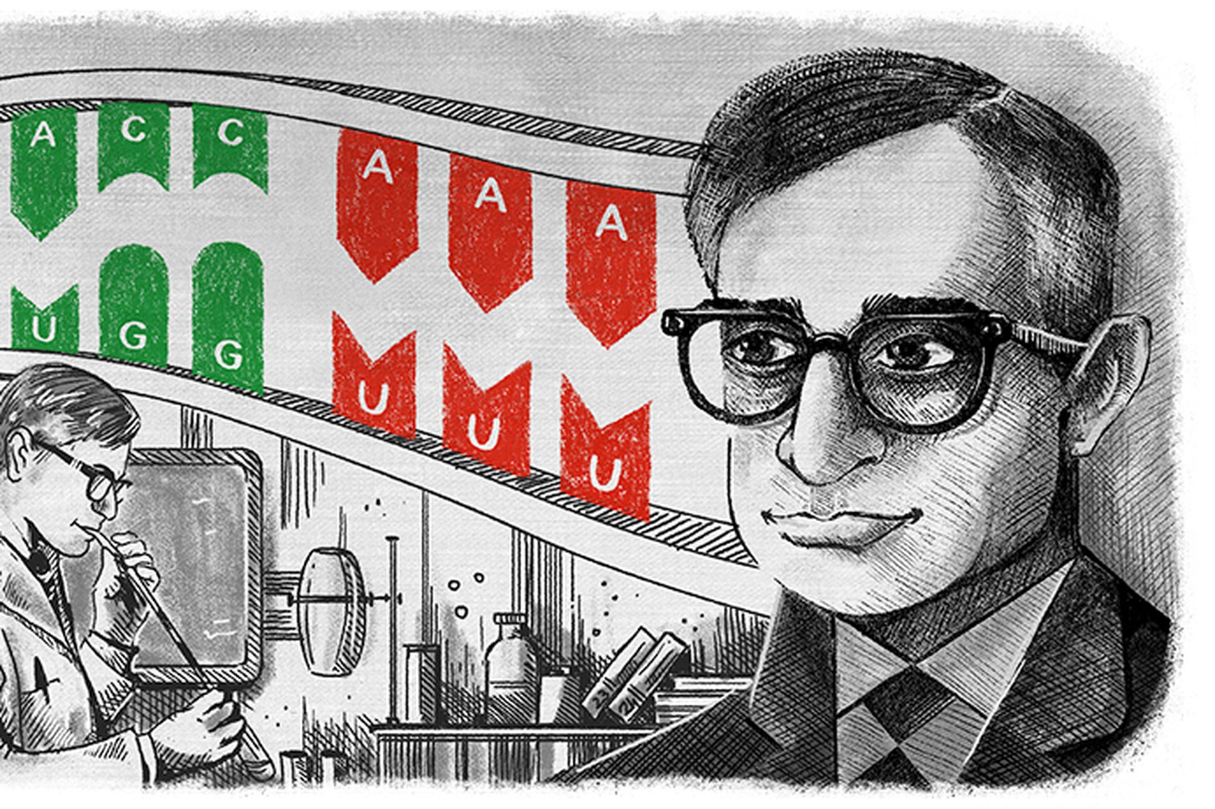 Har Gobind Khorana deciphered DNA and wrote the dictionary