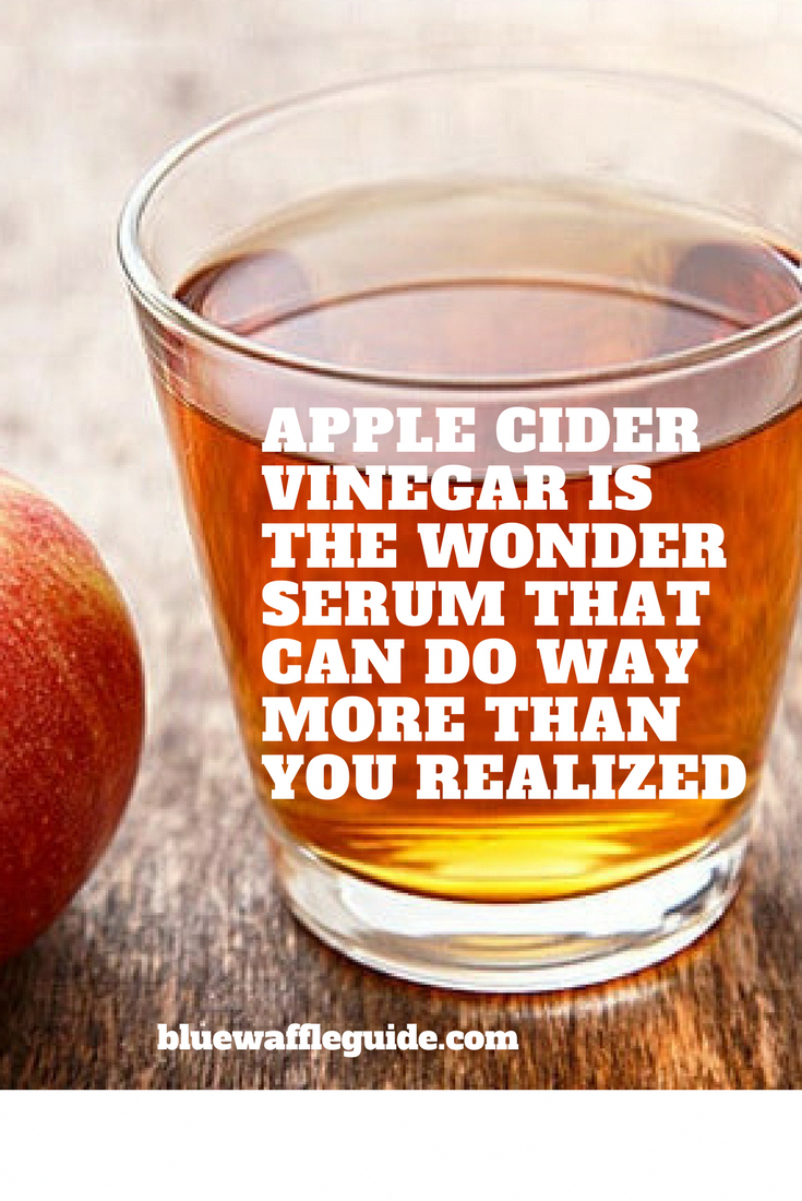 Apple Cider Vinegar Is Commonly Used As A Home Remedy For Everything