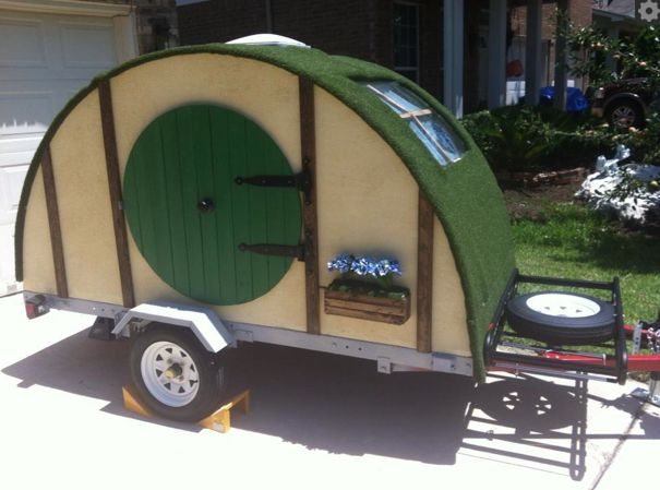 Hobbit Hole Trailer for Ultimate Geek Camping - Our Nerd Home