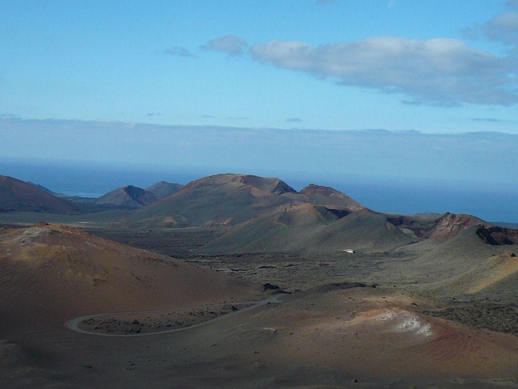 Montañas Del Fuego Lanzarote Islas Canarias Lanzarote Islas