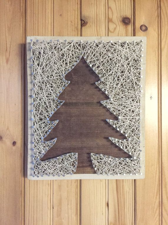 Pine Tree String Art