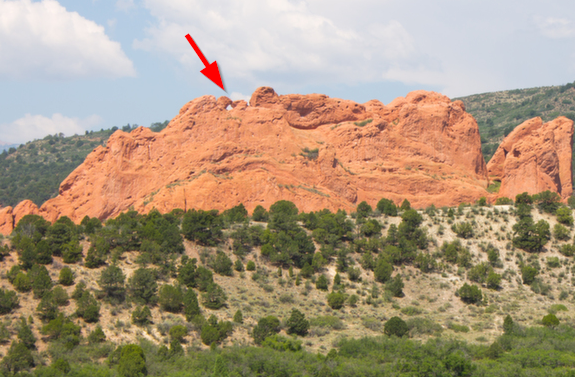 That S The Kissing Camels Right There Garden Of The Gods