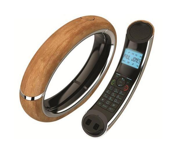 Eclipse 15 AEG - bois - Téléphone sans fil avec répondeur DECT ...