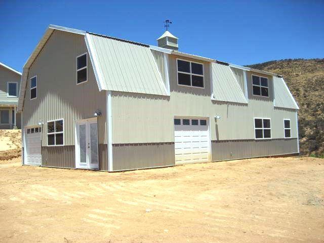 Barn20 | Metal buildings, Steel buildings, Pole barn homes