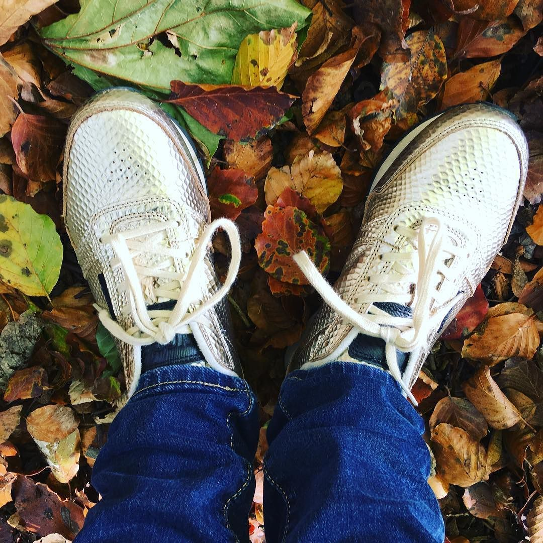 I am seriously in love with my new @wodenuk trainers from @tessutiuk they are soooo much fun!! Perfect for Autumn #ukexplore