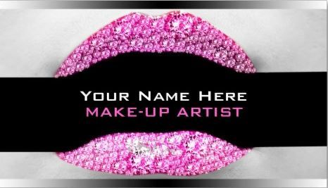 Girly Cosmetology Business Cards Page 1 Makeup Artist Names Makeup Artist Business Makeup Artist Business Cards
