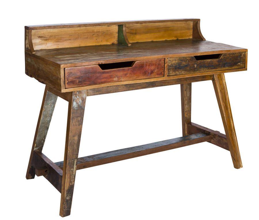 Reclaimed Wood Writing Desk WB Designs - Reclaimed Wood Writing Desk WB Designs