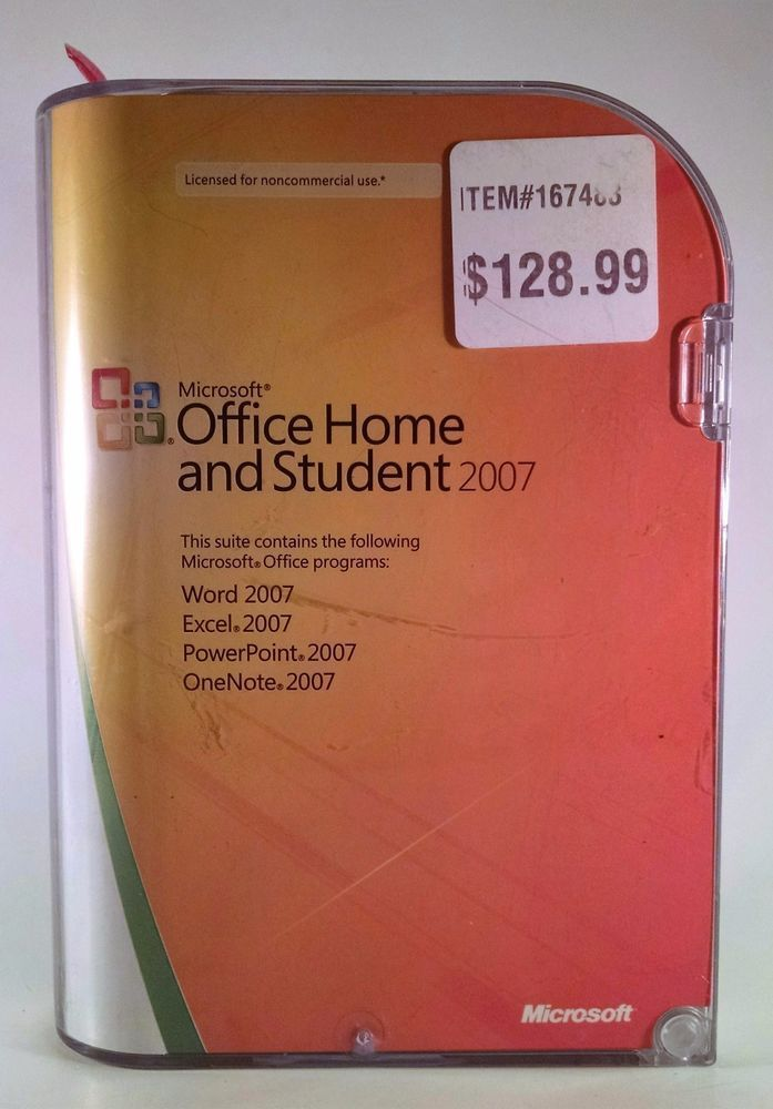 microsoft office home and student 2007 key