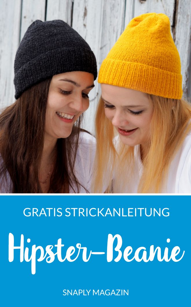 Photo of Kostenlose Strickanleitung: Hipster-Beanie | Snaply-Magazin