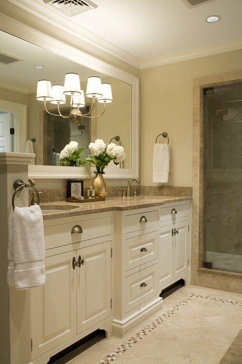 The Best Cream Bathrooms Bathroom Remodel Master Beige Cabinets