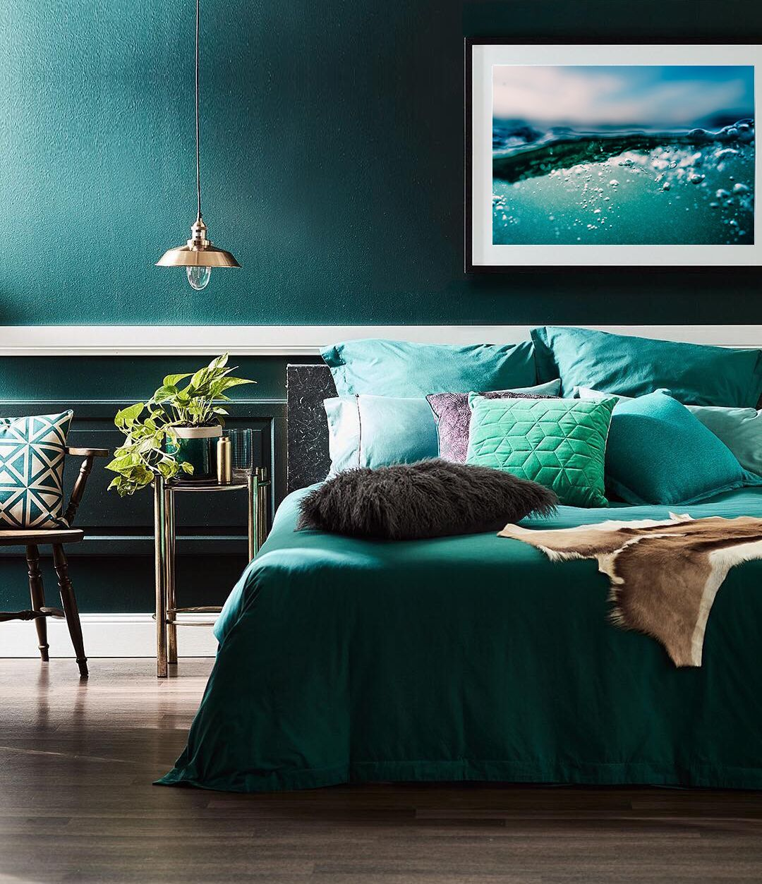 23++ Emerald green accent wall bedroom ideas in 2021