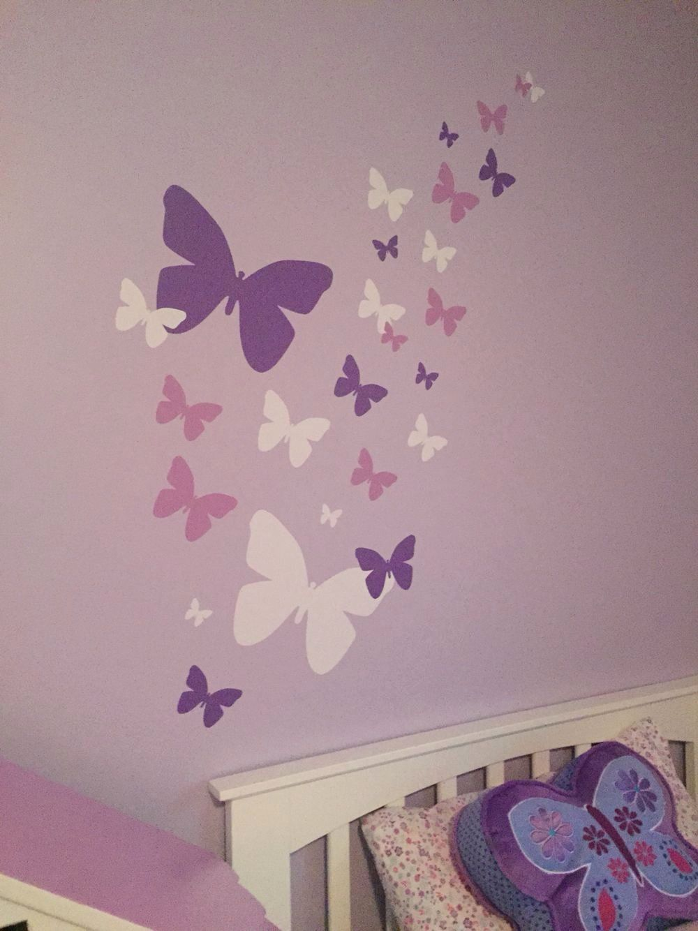 Butterfly Decor For Bedroom Best Of Butterfly Themed Room So Easy Decals From Di 2020