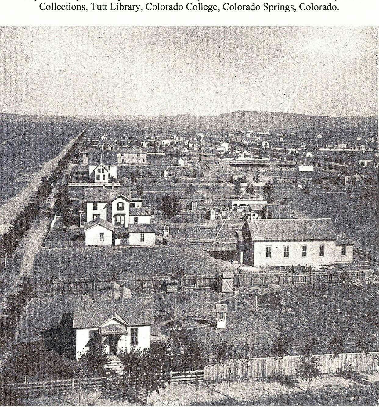 Colorado Springs, Cascade Avenue, 1874