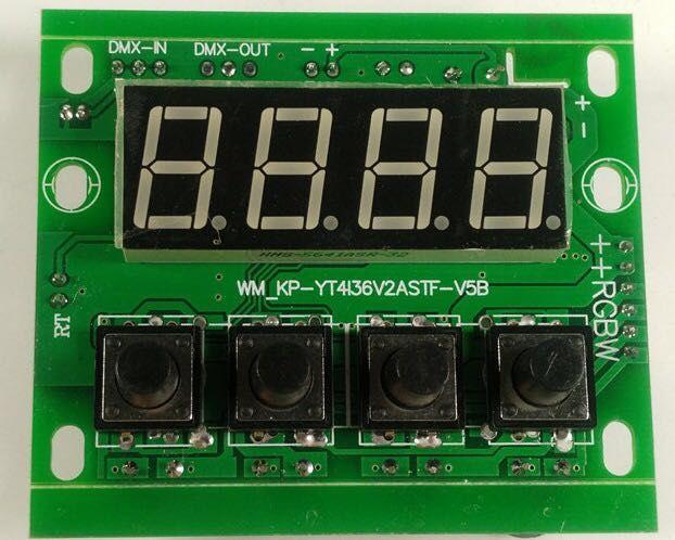 Free Shipping 54 3w Led Par Motherboard Voltage 12 24v Par Led Rgbw 4in1 54x3w Motherboard 4 8 Channel Commercial Lighting Motherboard Led