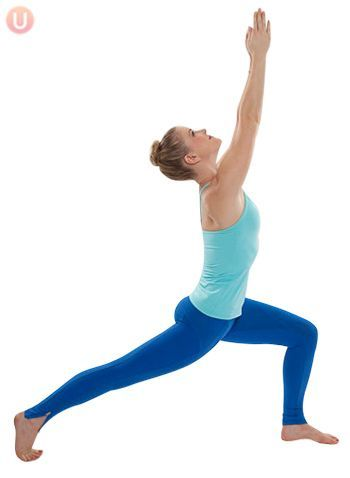 how to do a crescent lunge  get healthy u  yoga poses