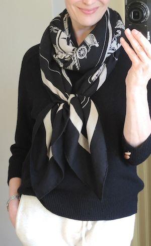 Cashmere Silk Scarf - Ill be there 4 u by VIDA VIDA gifP0L