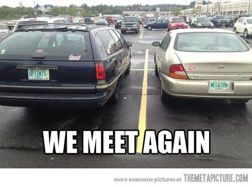 Optimus And Megatron Transformers Funny Transformers Memes Transformers Movie