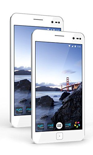GATCA Elite - Unlock Dual Sim Smartphone - White >>> Visit the image link more details.