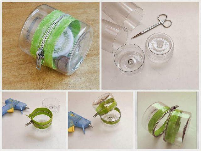 افكار يدوية جميلة للمنزل مع طرق تنفيذها بالصور والخطوات Diy Plastic Bottle Reuse Plastic Bottles Plastic Bottles