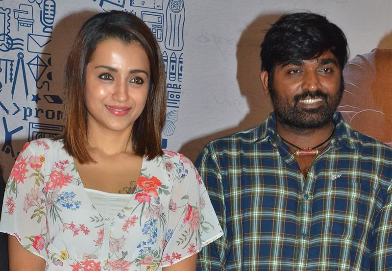 Vijay Sethupathi, Trisha  At 96 Movie Press Meet