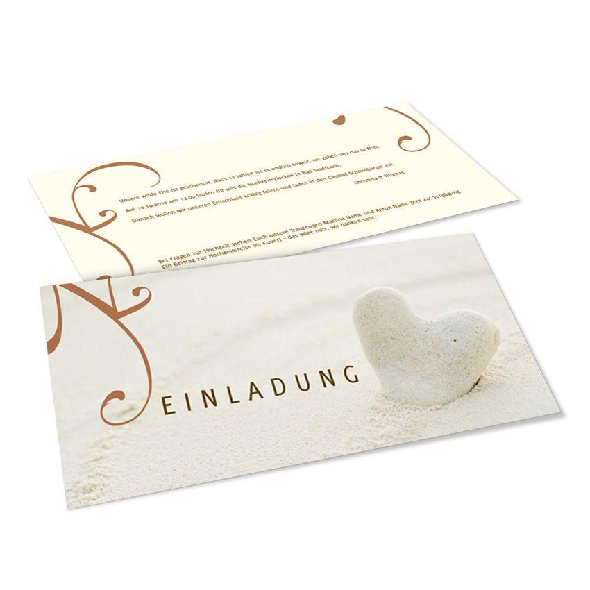 Hochzeitseinladungen Karte DIN Lang Vorlage(956) zum Online ...