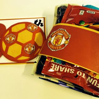What To Make For A Manchester United Fan Cards Handmade Boy Birthday Birthday Cards